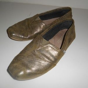 Gold Toms Shoes Size W7 Good Condition